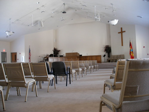 My church's new sanctuary