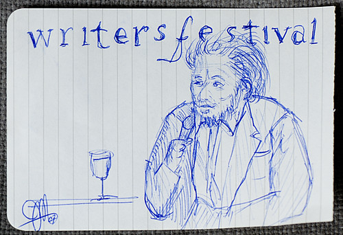 Michael Ondaatje Sketch