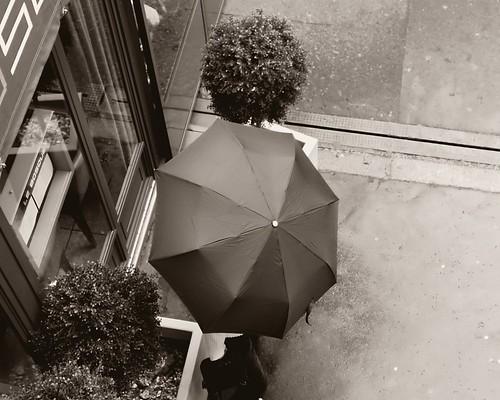 Parapluie à la carte