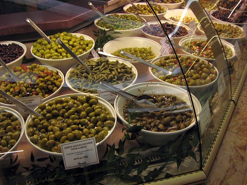 Olives and pickles - this is where I'll be if you need me