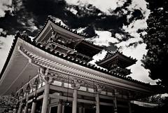 Heian-jingu (manganite) Tags: sky bw japan clouds digital buildings geotagged nikon kyoto asia tl  nippon d200 nikkor dslr kansai shrines nihon heian heianshrine supershot 10faves 18200mmf3556 utatafeature manganite nikonstunninggallery challengeyou challengeyouwinner abigfave geo:lat=35016132 geo:lon=135782781 date:year=2006 date:month=august date:day=23