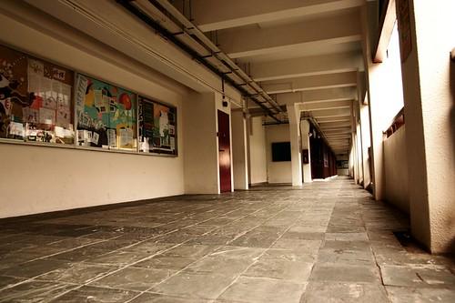 Walkway outside AVT