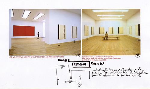 Barnett Newman - Schema 000 original rooms