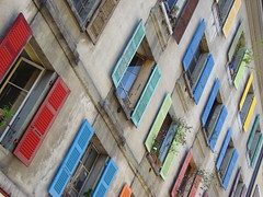 DSC00614 (brerwolfe) Tags: windows art home window colors colorful rustic artsy shutters colored abode