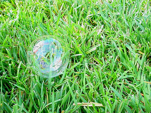 Bubble in the Grass
