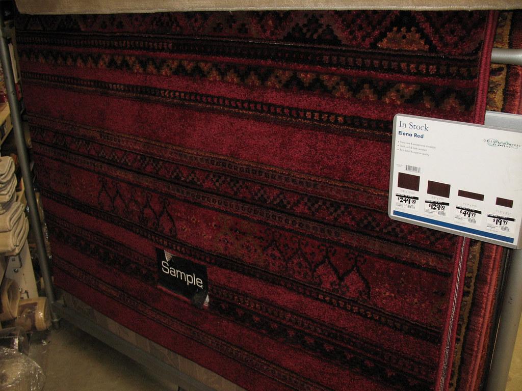 Burgundy rug I like for the living room.