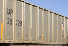 Train Passing By IV (Memories Visual Depot) Tags: railroad train engine unionpacific choochoo consist