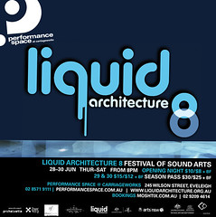 Liquid Architecture Flyer