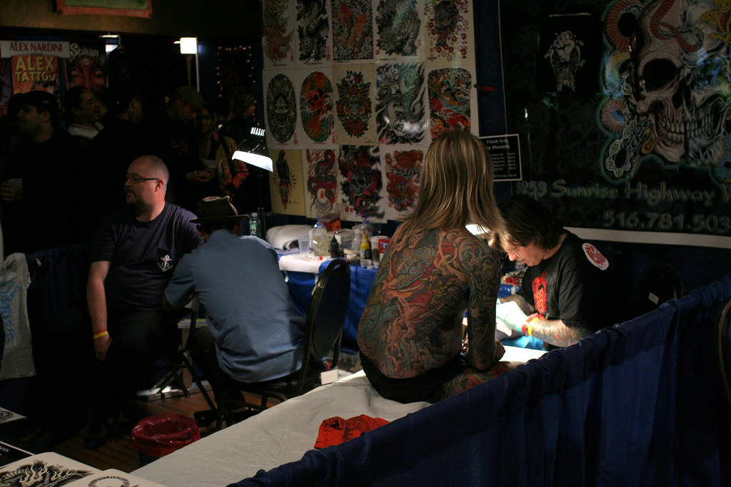 10th annual NYC tattoo convention