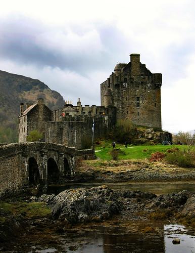 Castillo Highlander Escocia