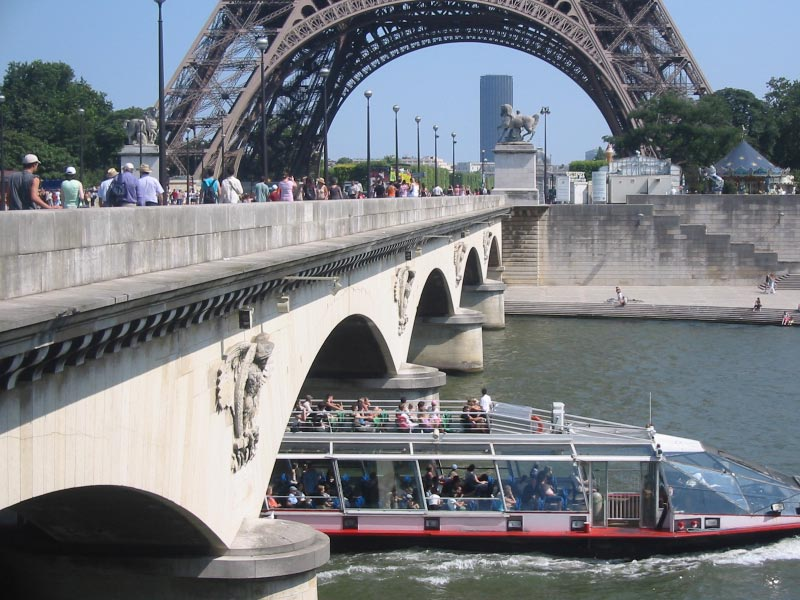 Eiffel Tower - River View
