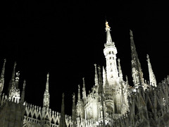Iced Duomo (stebox78) Tags: milano duomo madonnina madonna oro piazza notte night square italy italia lombardia tz1 ice ghiaccio explore500 explore 500 milanodomino