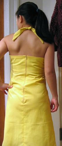 Cabo dress #2 back