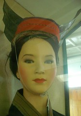 headress (Rex Pe) Tags: china nanning guangxi minoritygroups ethniccostumes chinesenationalities