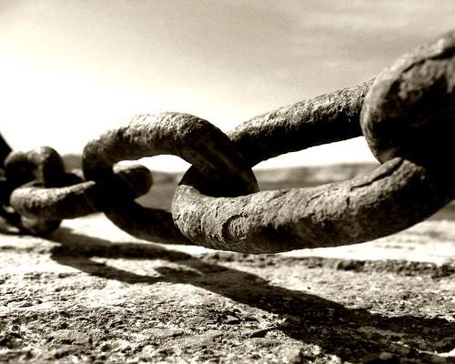 Chaine rouillée