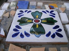 Mosaic (meliroo) Tags: school cambridge garden education celebration k8 urbanschool kingamigos citysprouts
