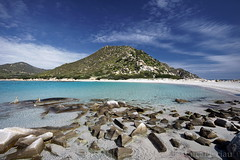 A granitic hill and his remains in the beach (LucaPicciau) Tags: sardegna ca sea beach coast sand mare sardinia villasimius searchthebest hill lp winner winners granitic granito sarrabus lupi i molentis puntamolentis lupi75 mywinners mywinner