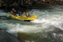Raft on the Nantahala