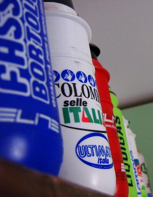 cycling italia hobby ciclismo selle passione fassa liquigas bortolo collezioni borraccia