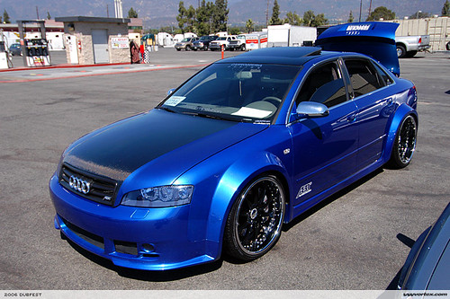 Tuning an Audi