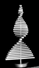 XMAS tree, twisted, wood, blocks, (David McSpadden) Tags: rectangularblocks twisted wood xmastree dalycity ca usa