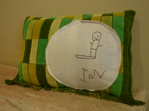 ians pillow finished