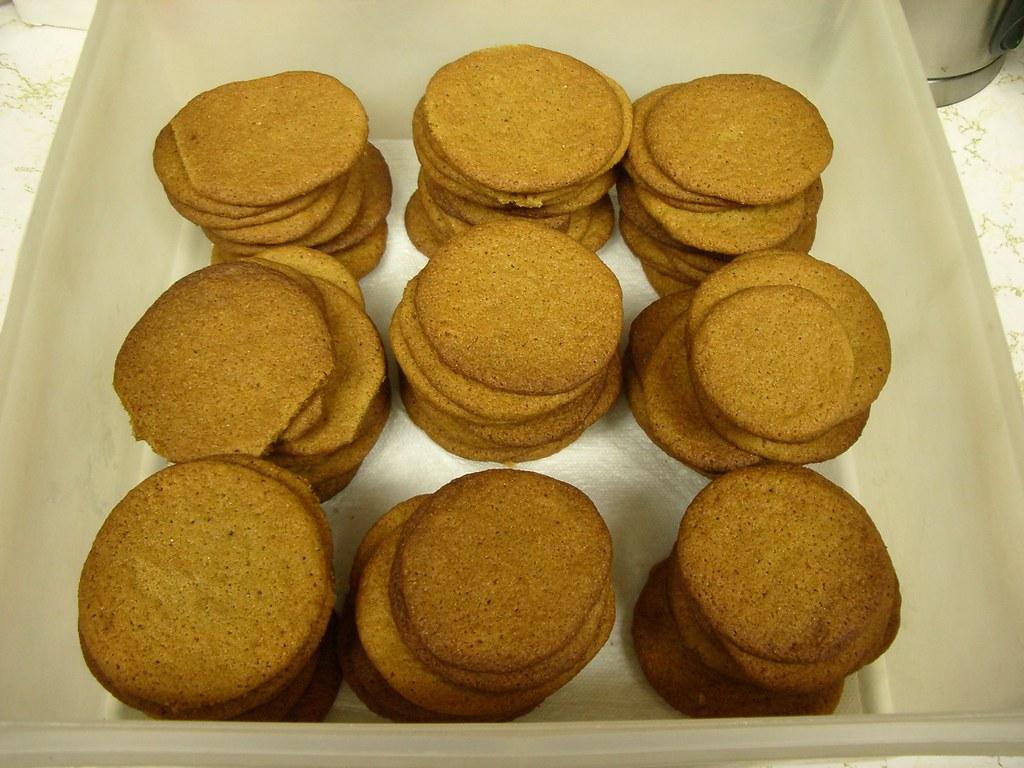 Engifer Smákokur (Icelandic Ginger Cookies)