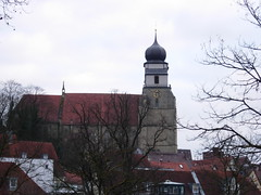 Old church in Herrenberg