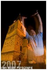 Jumping Ghost Rolf ([ o ] luclodder photography) Tags: church ghost rolf kerk fkp heerlen pancratius pancratiuskerk fotokunstparkstad