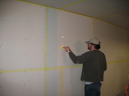 Mudding the Walls