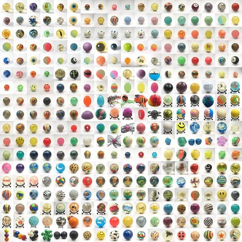 All my superballs in one mosaic