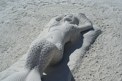 DSC04571 (pangdad_62) Tags: vacation sculpture art beach sand florida mermaid sandcastle sandsculpture sandart siestakey sculpting sandsculpting