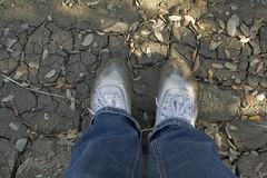 muddy_balloons_41 (sneaker lover) Tags: white fetish balloons shoes dirty canvas worn sneaker muddy keds