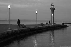 Life & Silence_2 (Aurora Demasi) Tags: life sea blackandwhite men greek sadness grey lights grigio hellas bn greece silence biancoenero dite aurorademasi