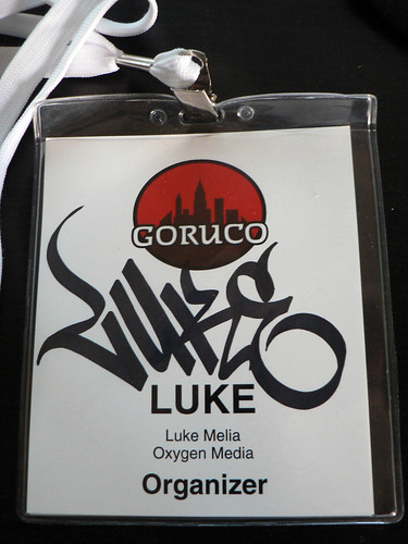 GoRuCo Name Badge