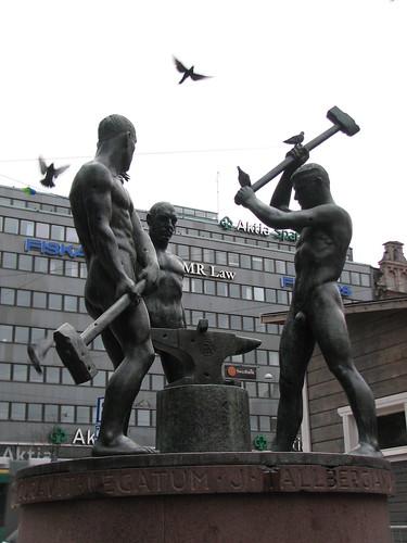 Monumento a los trabajadores de Finlandia