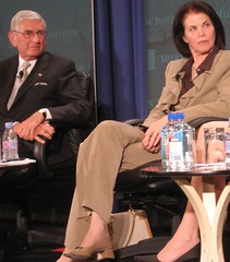 Eli Broad and Sherry Lansing