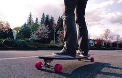 kyle4 (JMaddox) Tags: road street summer canada slr film pentax 1870mm longboarding nikkor1870mm justpentax skullskate vancouverstreetside