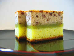 tricolor poundcake (aloalo*) Tags: food cake japan dessert