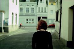 young redhead (nebelfeldflucht) Tags: germany lomo lomography bonn album crossprocess bodylanguage 200iso fav ricoh madeingermany kr10x