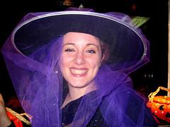Violet Witch (Donna Franc) Tags: party portrait italy halloween colors sara italia witch rimini festa colori ritratto emiliaromagna strega creperia thebigone 10faves iloveyoursmile charmbeautypeoplesociety colourartaward peachofashot