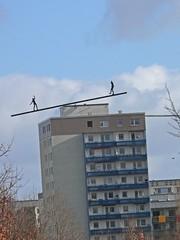 Gleichgewicht (Vollmilch123) Tags: building berlin hochhaus marzahn