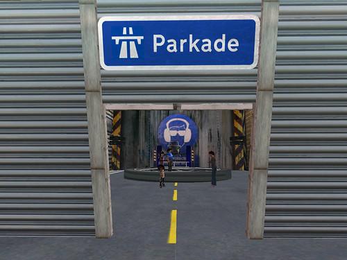 Parkade v1.0 during building