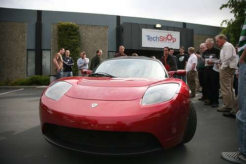 Tesla Front View