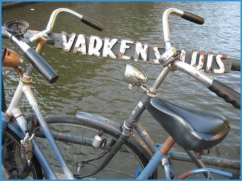 bikes, bridges, canals.