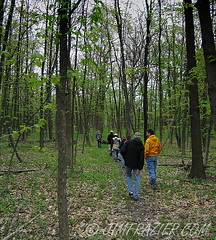 The Annual Spring Bird Count (Jim Frazier) Tags: trees people nature forest illinois flora v100 birding may batavia kane birders fermilab q3 2007 ferminationalacceleratorlaboratory birdcount batblog jimfraziercom