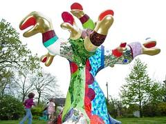 Niki de Saint Phalle: Arbre Serpents