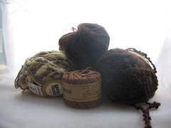 Various yarns, almost vintage! :D