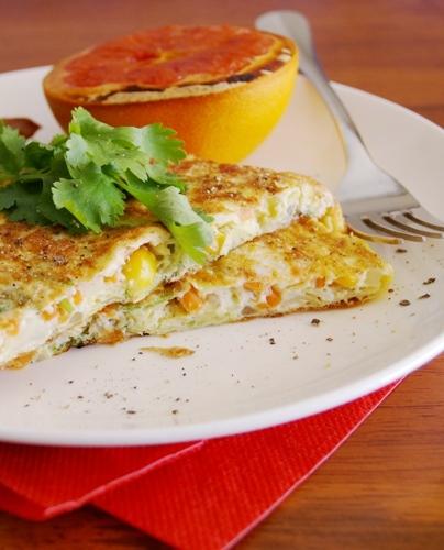 Cabagge Omelette