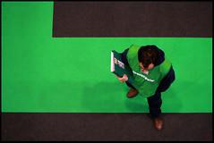 May I have your attention, please? (Sartori Simone) Tags: italien italy green geotagged europa europe italia greenpeace environment italie padova ambiente veneto allrightsreserved flickrworldwide simonesartori dialogatore civitas2007 fieradipadova sfidephotoamatoriwinner